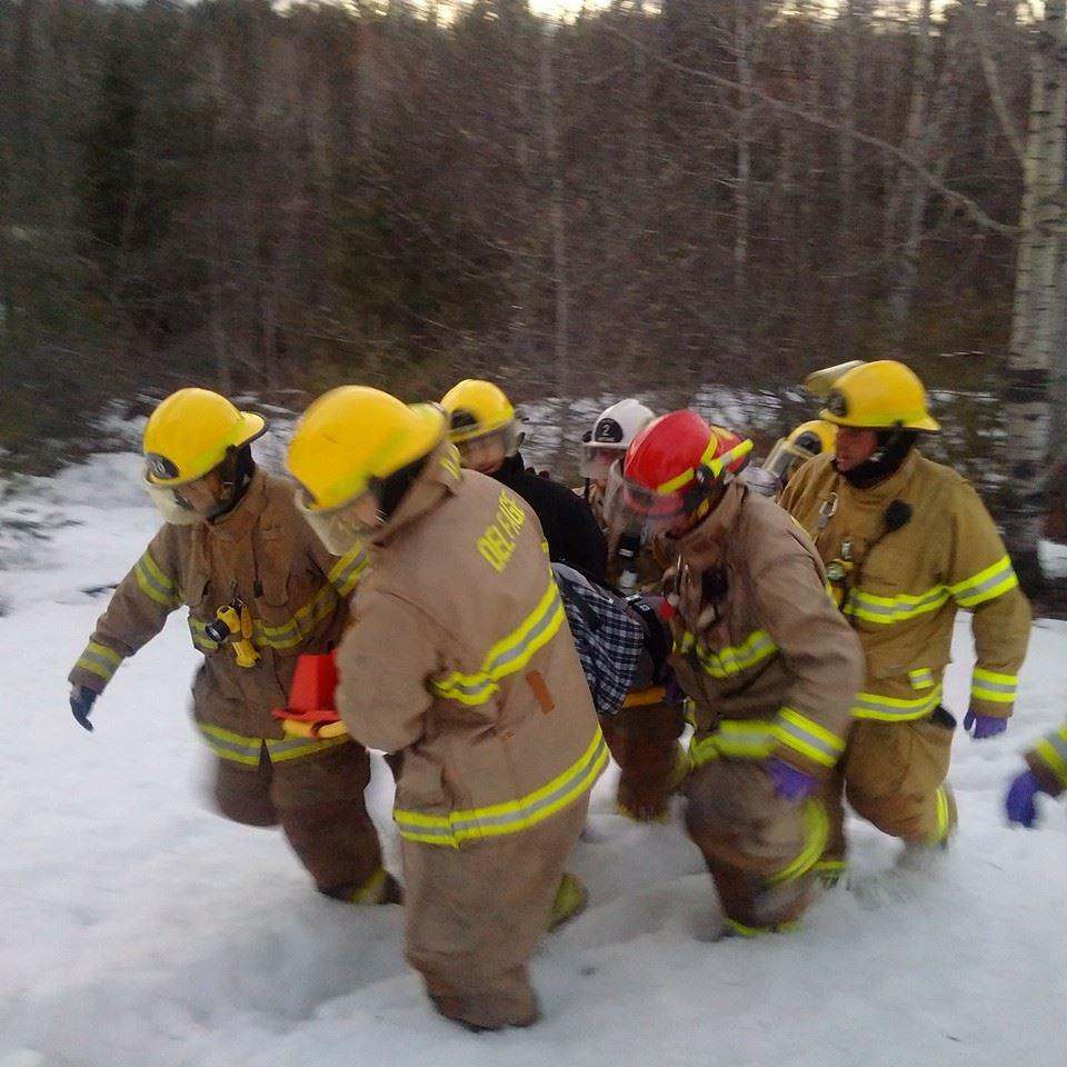 Premiers soins pompiers